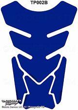 GSXR YZF ZXR CBR Tankpad Plain Basic Blue Motorcycle Tank Pad Gel Protector