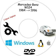 Manuale Officina MERCEDES W124 - Assistenza, Riparazione e Manutenzione!