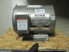 Ronk Roto-Con Mark II Electrical Power Phase Converter Model 92 2 HP Type 2P/4P