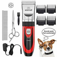 Wireless Dog Clipper Kit for Pet Shaver Shave Set Puppy Battery Powered Best Pup