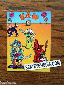 ZAM-S CLAY WILSON-COMIC BOOK-UNDERGROUND COMICS-COMIX-shelton-crumb-griffin-zap