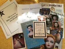 More details for joblot of gene marshall doll ephemera inc signed mel odom card, posters postcard