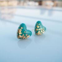 gems oreille étalon des bijoux des boucles d'oreilles en turquoise 925 silver