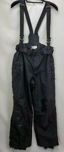 Columbia Mens Ski Snowboard Bib Suspender Pants Size XL Black Winter Snow Pant
