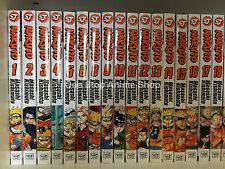Naruto ( Vol. 1 - 72 ) English Manga Graphic Novel Set Brand NEW Lot