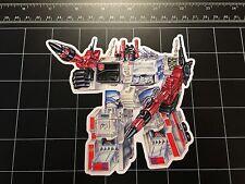 Transformers G1 Metroplex box art vinyl decal sticker Autobot base 1980s toy