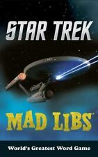 NEW Star Trek Mad Libs by Eric Luper (2016, Paperback)