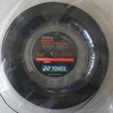 Yonex Tennis String Poly Tour Tough 125, PTT 125-2, 1.25 mm/16L GA 200m, Black