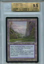 1 PLAYED Sheltered Valley Land Alliances Mtg Magic Rare 1x x1