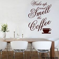 Dining Room Coffee Vinyl Wall Stickers