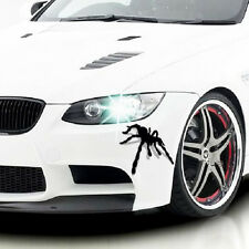 2pcs Spider Shaped 3D Three-Dimensional Car Sticker Funny Decoration