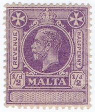 (I.B) Malta Revenue : Duty Stamp ½d