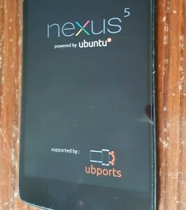 DEGOOGLED LG NEXUS 5 PRIVACY SMART PHONE UBUNTU TOUCH 32GB NEW SECURE PROTEST