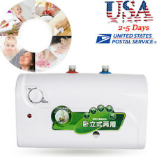 SALE!8L Tank Electric Hot Water Heater Household Bathroom Kitchen Auto Power Off