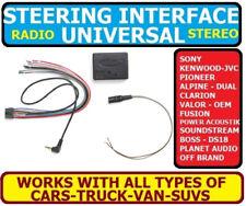 CAR STEREO RADIO STEERING WHEEL CONTROL RETENTION INTERFACE ADAPTER UNIVERSAL