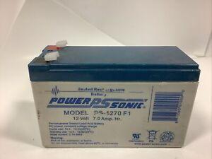 Power-Sonic PS-1270113-12V 7Ah Sealed Lead Acid (SLA) Battery for UB1270