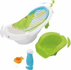Fisher Price 4-In-1 Sling 'N Seat Baby Bathtub Tub Toddler ~ NEW