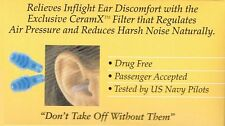 =>PRICE SMASH 2 PAIRS EARPLANES ADULT HYPOALLERGENIC EAR PLUGS , SILICONE