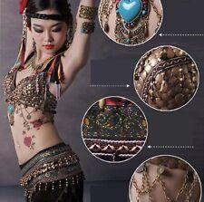 025 Tribal Vintage Bauchtanz Kostüm Fasching Karneval Belly Dance Costume Ethnic
