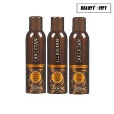 Body Drench Quick Tan Instant Self Tanning Medium Dark Spray 6 oz (Pack of 3)