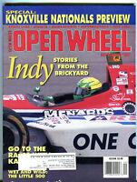 Open Wheel Magazine September 1987 Indy Stories Brickyard EX 021916jhe