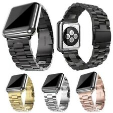 Correa reloj de acero inoxidable de 38/40/42/44 mm para iWatch Apple Watch