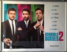 Cinema Poster: HORRIBLE BOSSES 2 2014 (Trio Quad) Jennifer Aniston Kevin Spacey