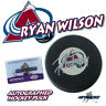 "RYAN WILSON Signed COLORADO AVALANCHE Puck w/COA ""NEW"" #3"