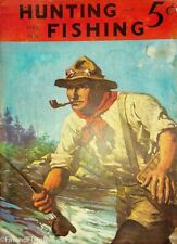 Vintage Hunting & Fishing Magazine April 1938 B Great Cover Sporting Jem76