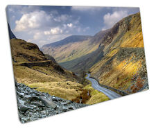 HONISTER PASS LAKE DISTRICT CANVAS WALL ART PICTURE LARGE 75 X 50 CM