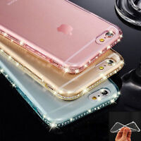 Luxury Diamond Ultra-thin Soft Silicone TPU Case Cover For iPhone 8 5 6s 7 Plus