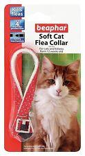 Beaphar 17788 Cat Flea Sparkle Collar Red