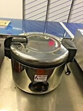 BUFFALO CK698 Commercial Large Rice Cooker 9 Litres Catering