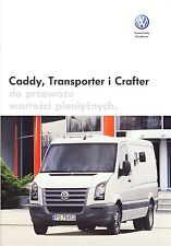 Volkswagen Vw Caddy Transporter Crafter Armored 03 / 2008 catalogue brochure