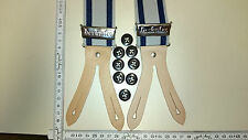 HERKULES  suspenders      Made in Germany   grey / dark blue size Extra Large