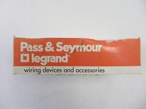 Lot of 10 Pass&Seymour 26352-W Duplex Receptacle