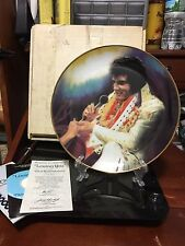 """Elvis Remember - """"Loving You"""" Plate By Susie Morton"""