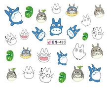 Nail Art Decals Transfers Stickers Cartoon Animals (DB480)