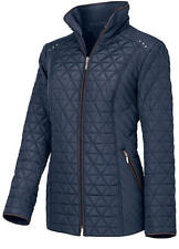 Fitted Warm and Lightweight Quilted Jacket Length Coat Petite