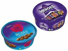 Cadbury Heroes and Roses Chocolate Tub 600g (Combo Pack)