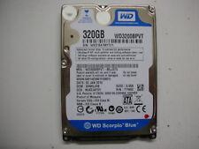 """WD Scorpio Blue 320gb WD3200BPVT-80JJ5T0 2060-771820-000 Rev a 2,5 """" SATA"""