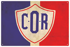 C.O.R VINTAGE  TIN SIGN