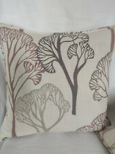 "18"" Cream lilac Design Cushion cover Villa Nova fabric Waterlily Classic Design"
