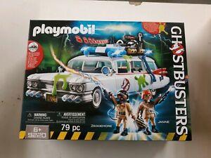 Playmobil GHOSTBUSTERS Ecto-1 Car Zeddemore Janine MIB Sealed In Box 9220