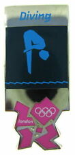 2012 London Olympics official pictogram DIVING competition venue Pin Badge