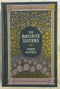 The Bronte Sisters: Three Novels (Barnes & Noble luxury illustrated edition)