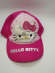 Details about  /2006 Sanrio Hello Kitty Pink Toddler Kids Girl Baby Winter Warm Hat Cap Hat New