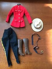 Barbie Canadian Mounted Police Ensemble Outfit
