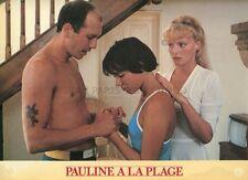 ARIELLE DOMBASLE  PAULINE A LA PLAGE 1983 ERIC ROHMER VINTAGE PHOTO #5
