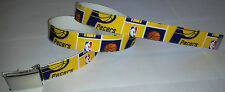 Indiana Pacers BELT Buckle Basketball NBA Fan Game Gear Pro Shop B-Ball Gift IN